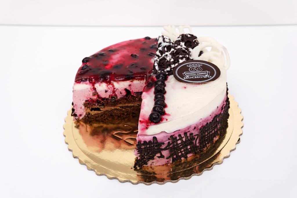 Tort porzeczkowy z chrupką