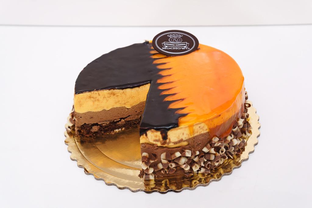 Tort czekoladowy z pomarańczą