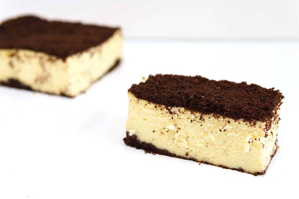 Zdjęcie sernik z czekoladową kruszonką